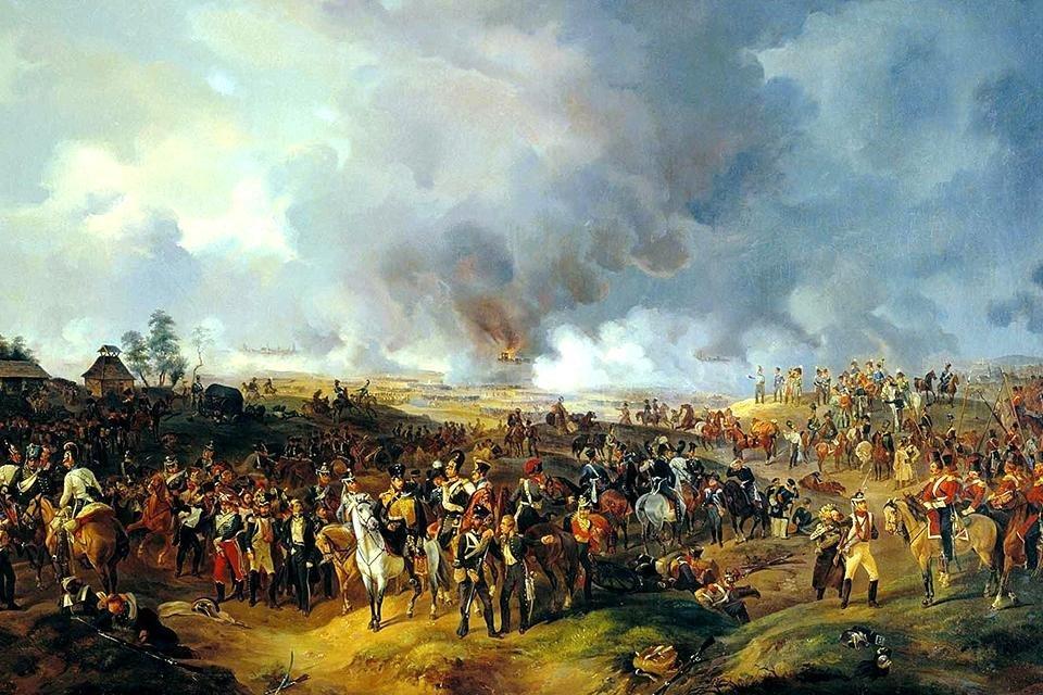 De Slag bij Leipzig, 1813