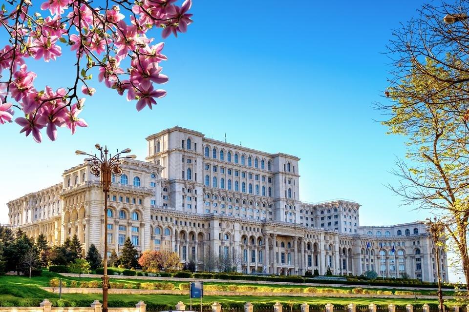 Paleis van de republiek in Boekarest, Roemenië