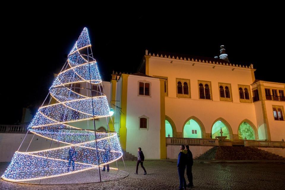 Sintra, Portugal, tijdens kerst