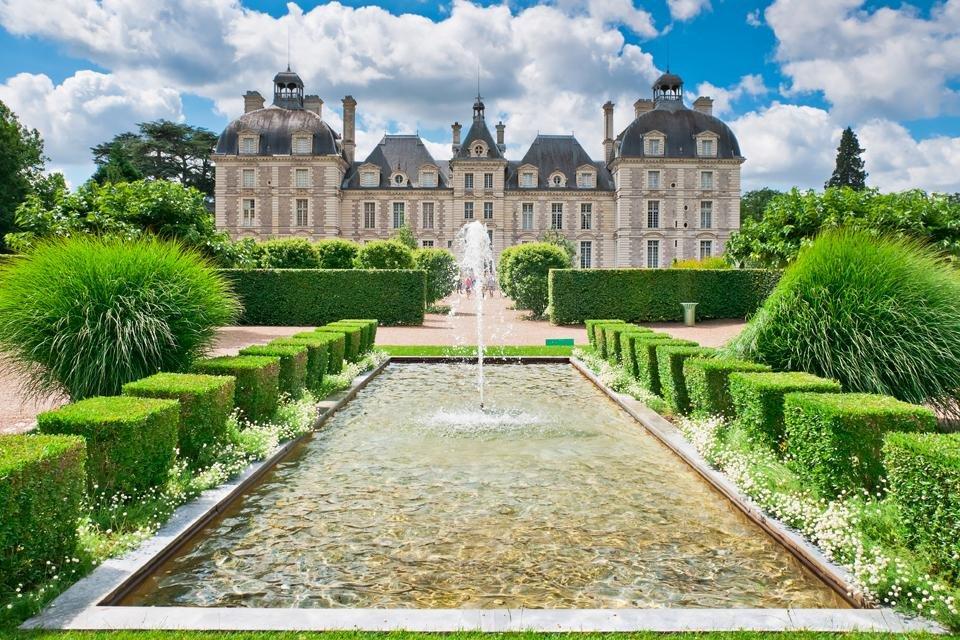 Château de Cheverny in Frankrijk