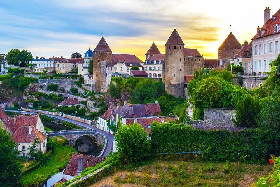 Semur-en-Auxois, Frankrijk
