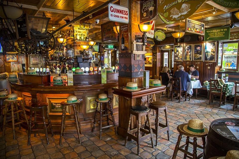 Ierse pub in Dublin, Ierland