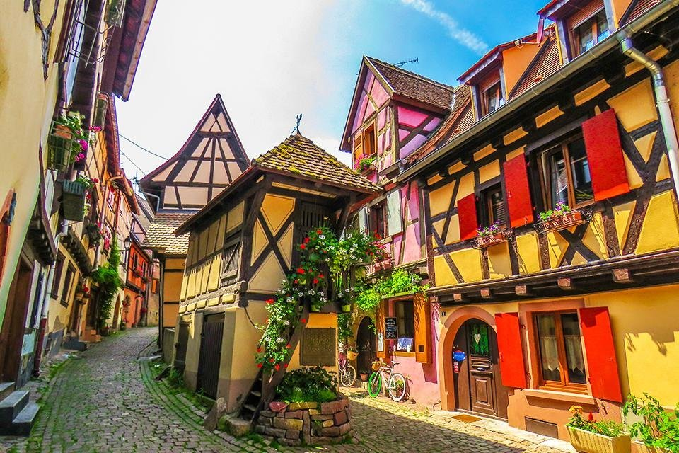 Eguisheim, Elzas, Frankrijk