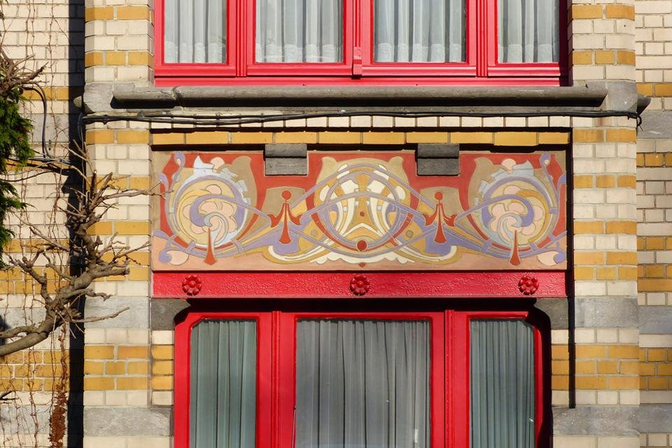 Art nouveau in Brussel, België