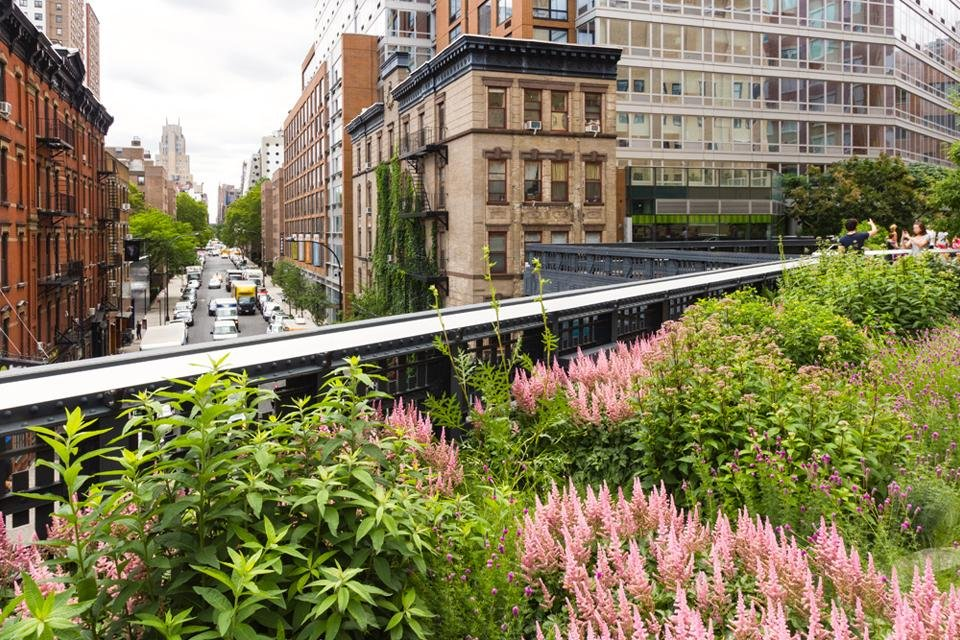 High Line Park in New York, Amerika