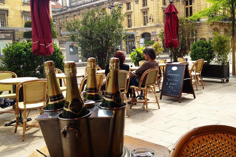 Reims, Champagne, Frankrijk