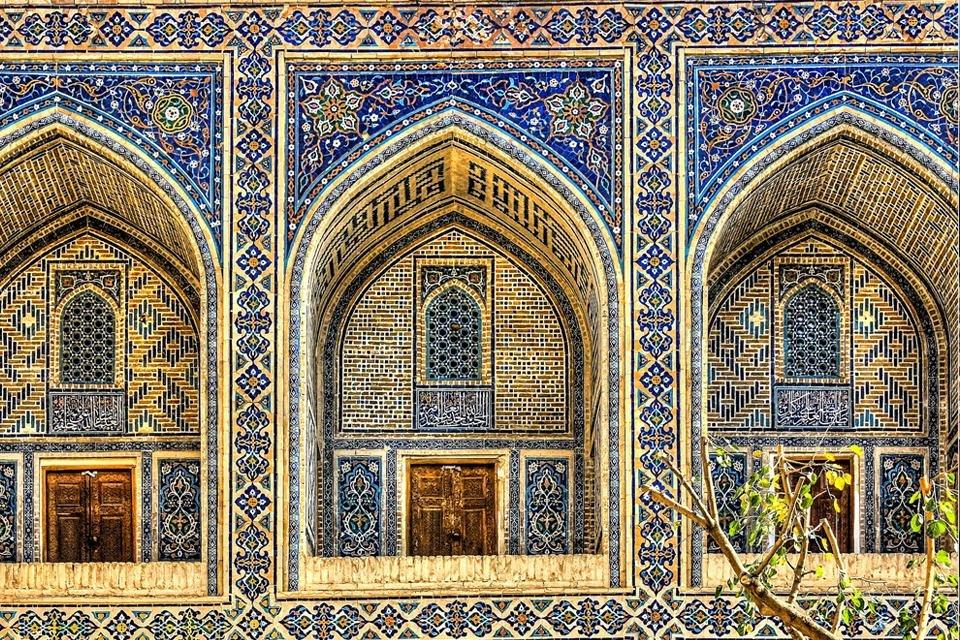 Samarkand in Oezbekistan
