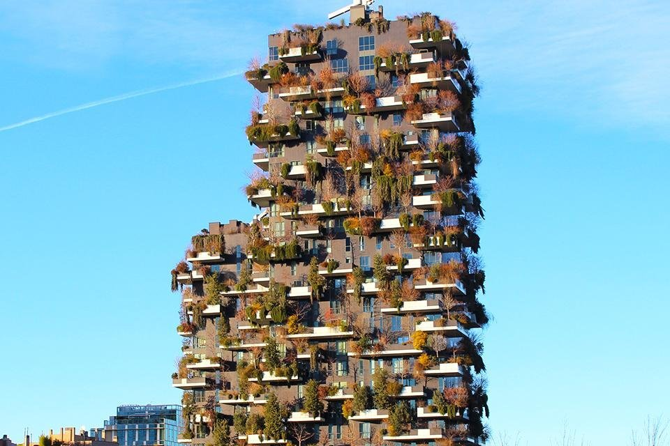 Bosco Verticale, Milaan, Italië