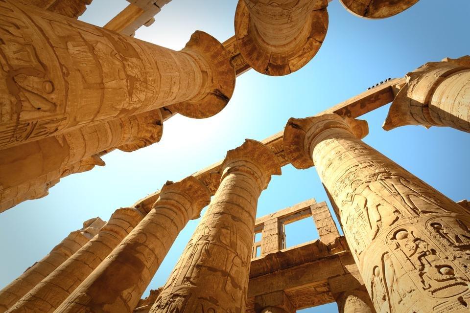Tempel van Karnak in Egypte