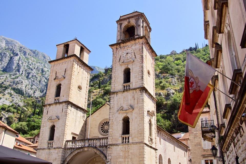 De binnenstad van Kotor, Montenegro