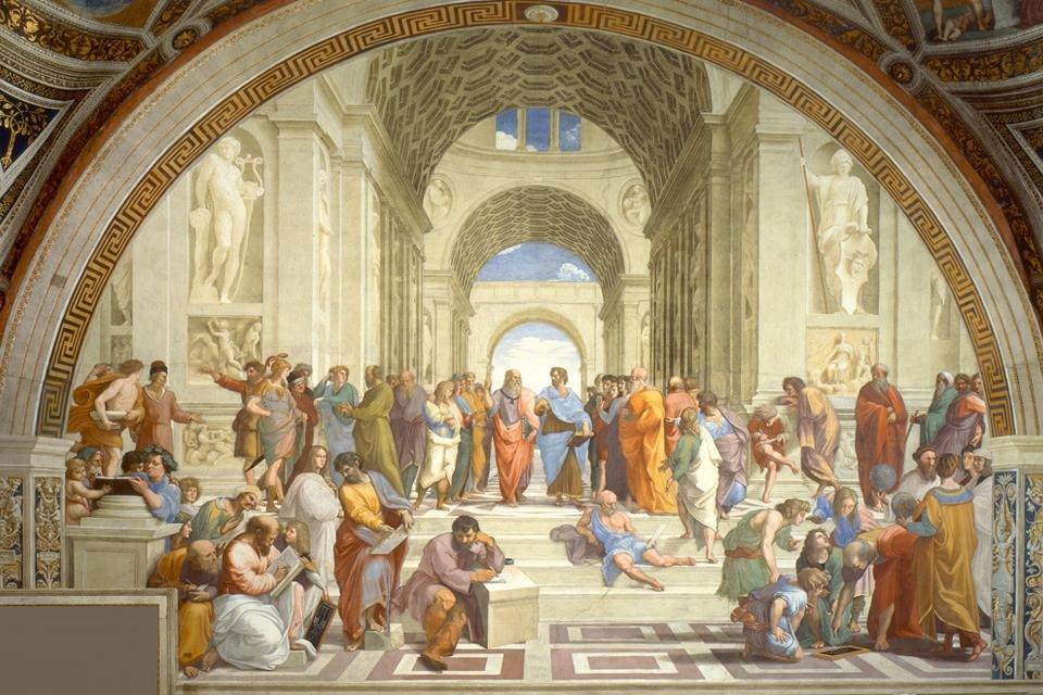 De School van Athene van Rafaël