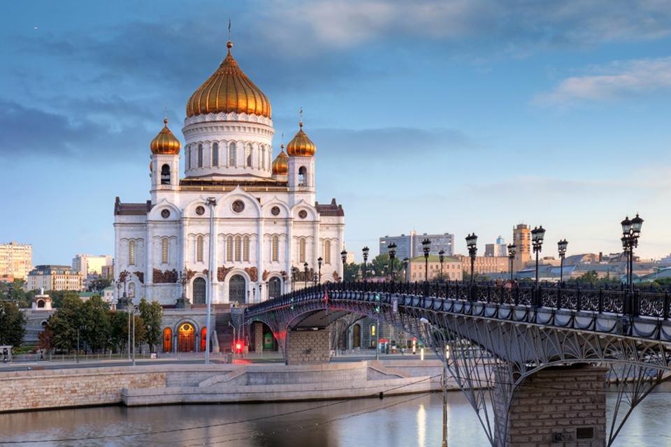 Christus Verlosserkathedraal in Moskou, Rusland