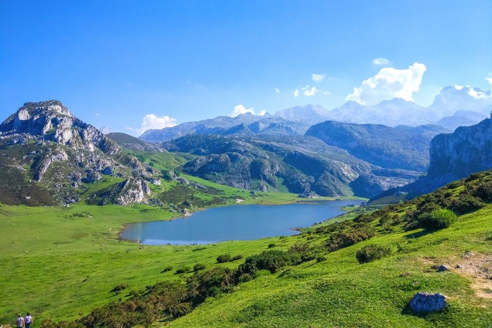 Lagos de Covadonga, Spanje