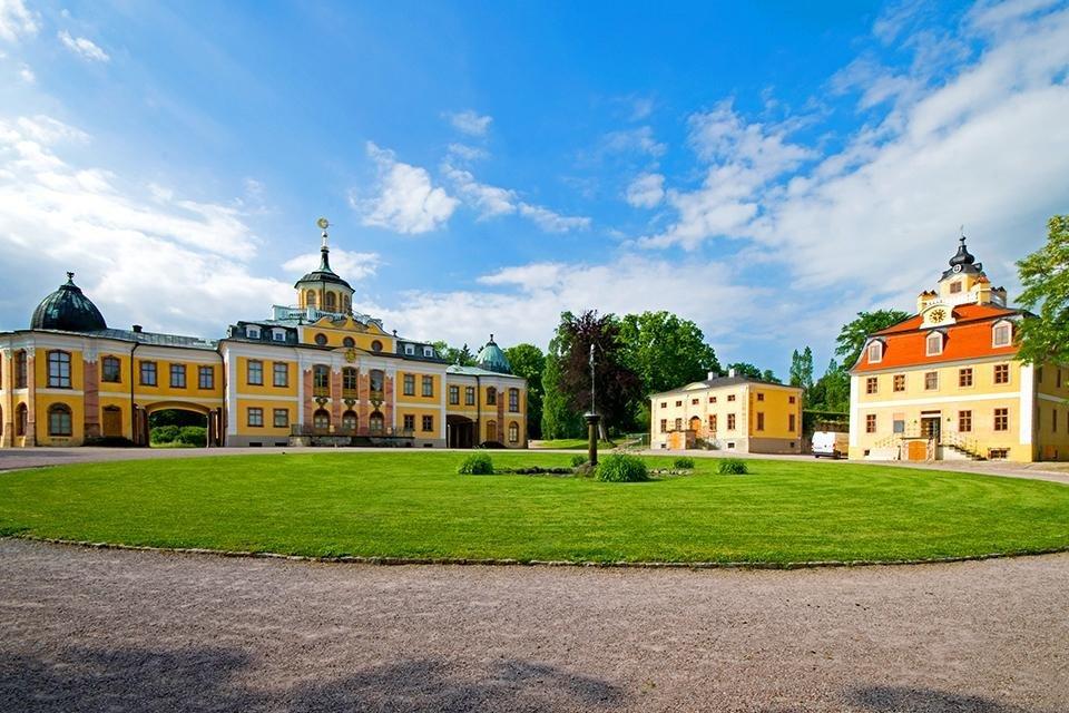 Schloss Belvedere, Weimar, Duitsland