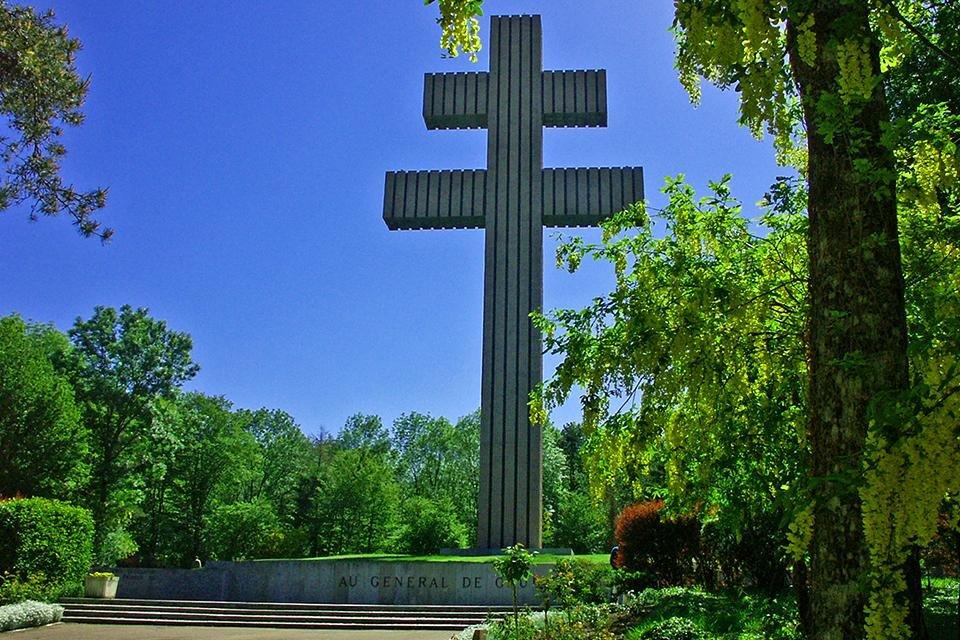 Colombey-les-Deux-Églises - Memorial Charles de Gaulle, Frankrijk