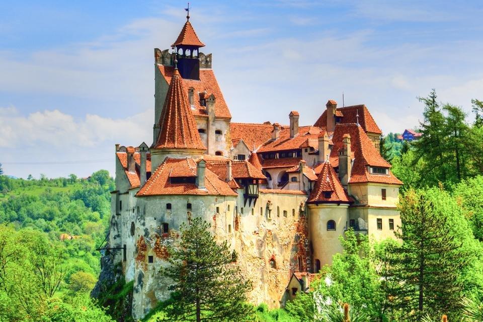 Kasteel van Dracula in Bran, Roemenië