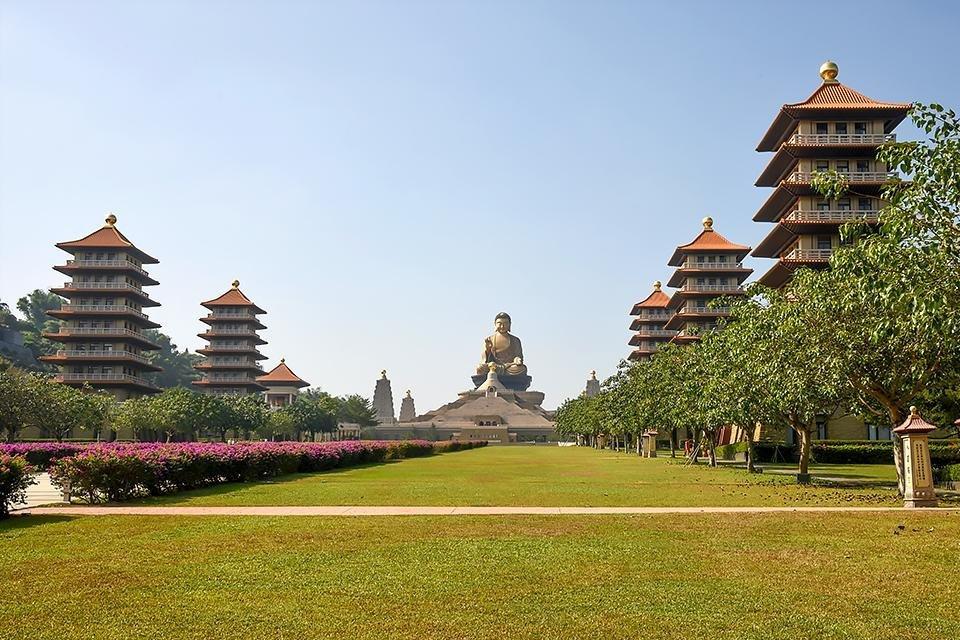 Fo Guang Shan-klooster in Taiwan | Foto: Carla Houtekamer