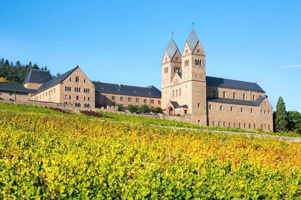Benediktijnenabdij Sankt Hildegard in Rüdesheim, Duitsland