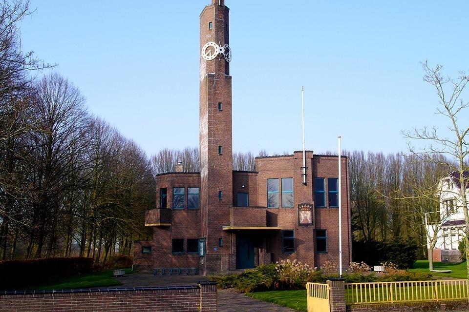 Het Raadhuis van Berlage Usquert Nederland