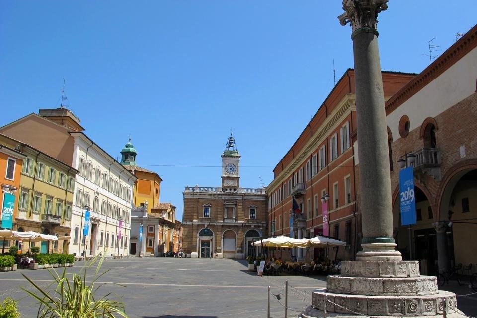 Piazza del Popolo, Ravenna, Italië