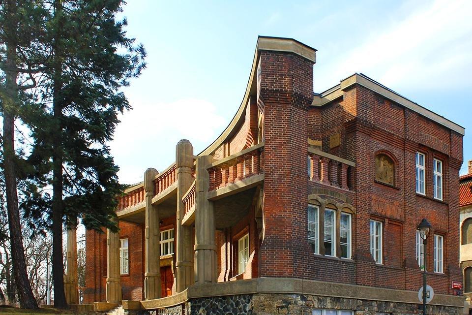 Villa Bílek in Praag, Tsjechië