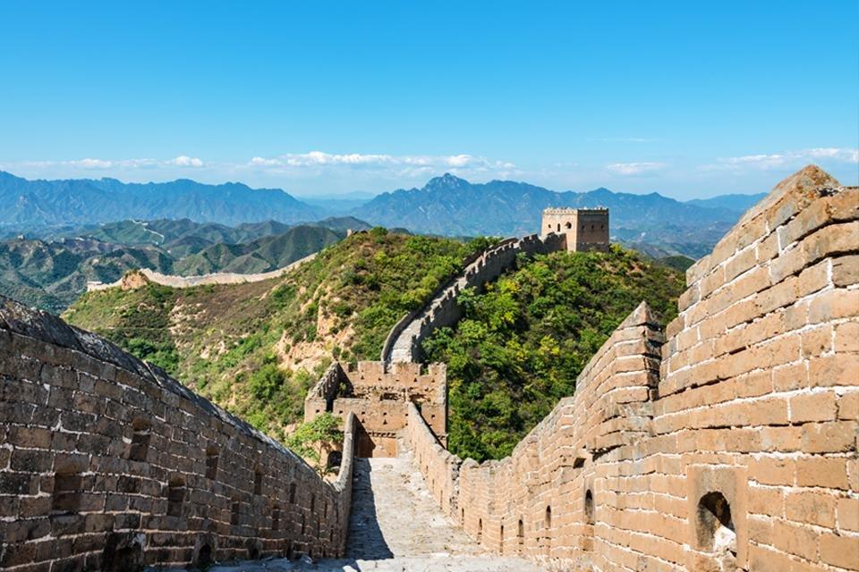 Grote Muur bij Simatai, China