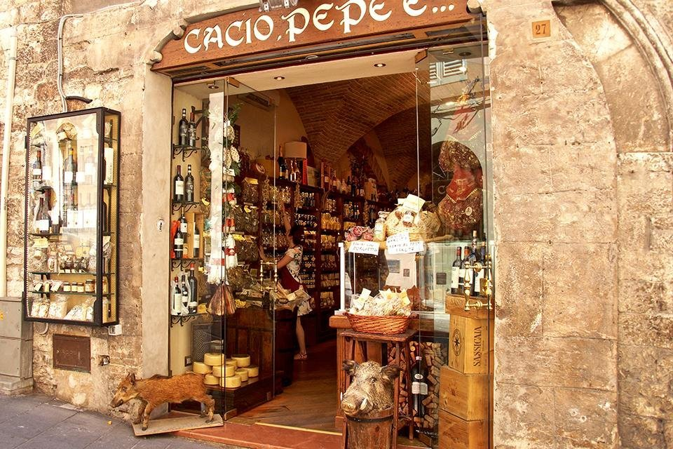 Assisi, Umbrië, Italië