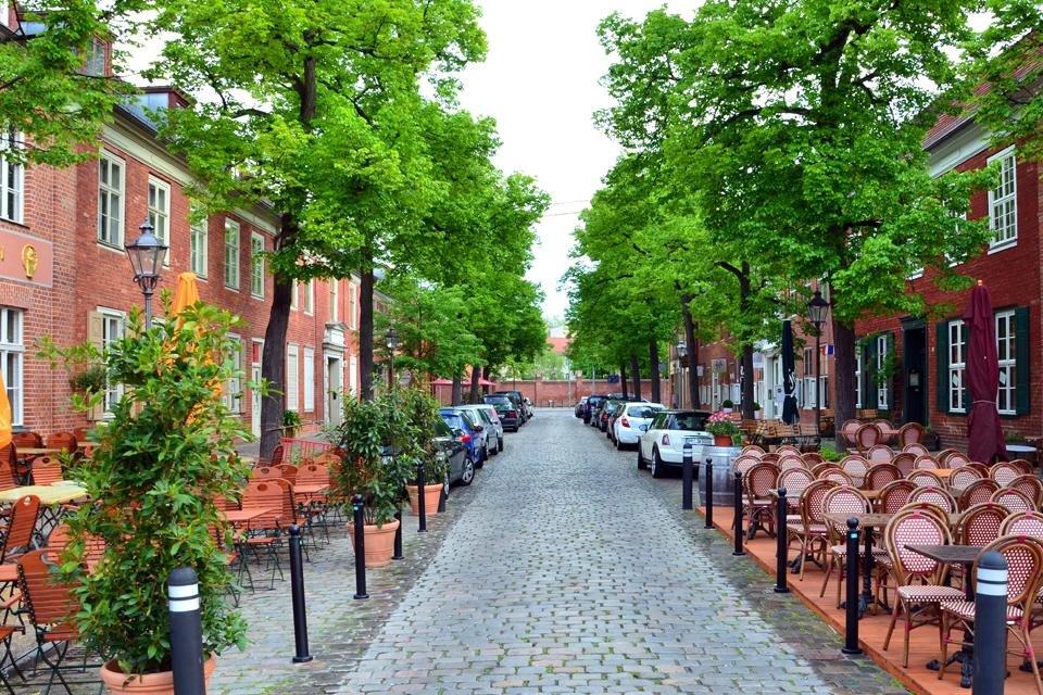 Hollandse wijk in Potsdam, Duitsland