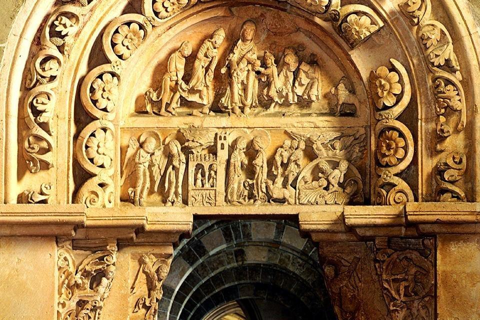 Basilique de la Madelaine, Vézelay, Frankrijk