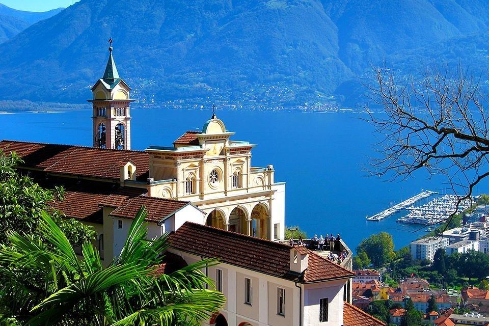 Madonna del Sasso, Locarno, Zwitserland