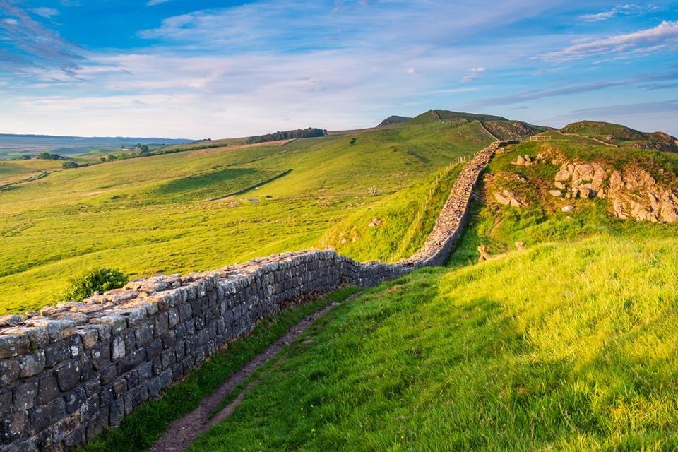 Hadrian's Wall, Schotland, Groot-Brittannië