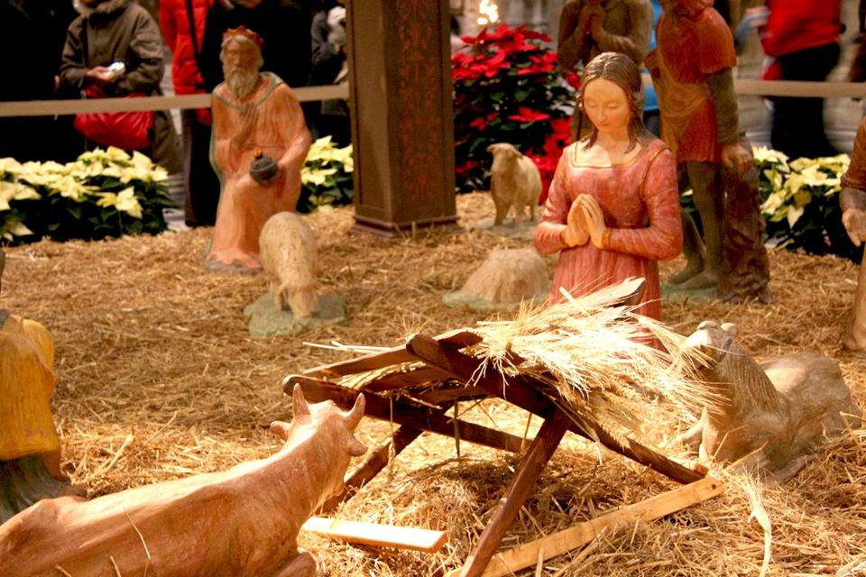 Kerststal in Italië