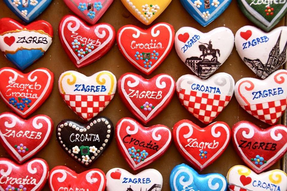 souvenirs, Zagreb, Kroatië