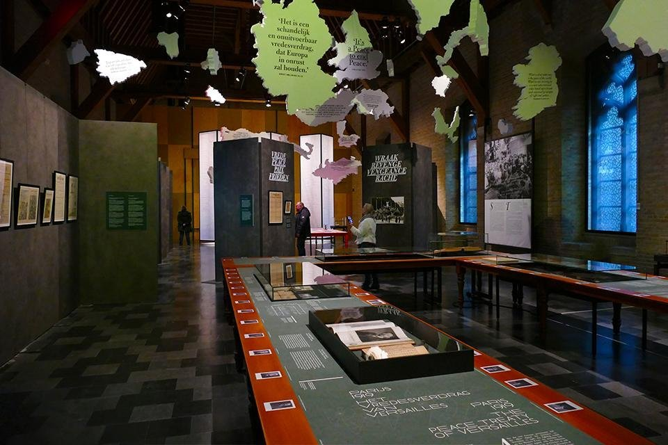 In Flanders Fields Museum, Ieper, België
