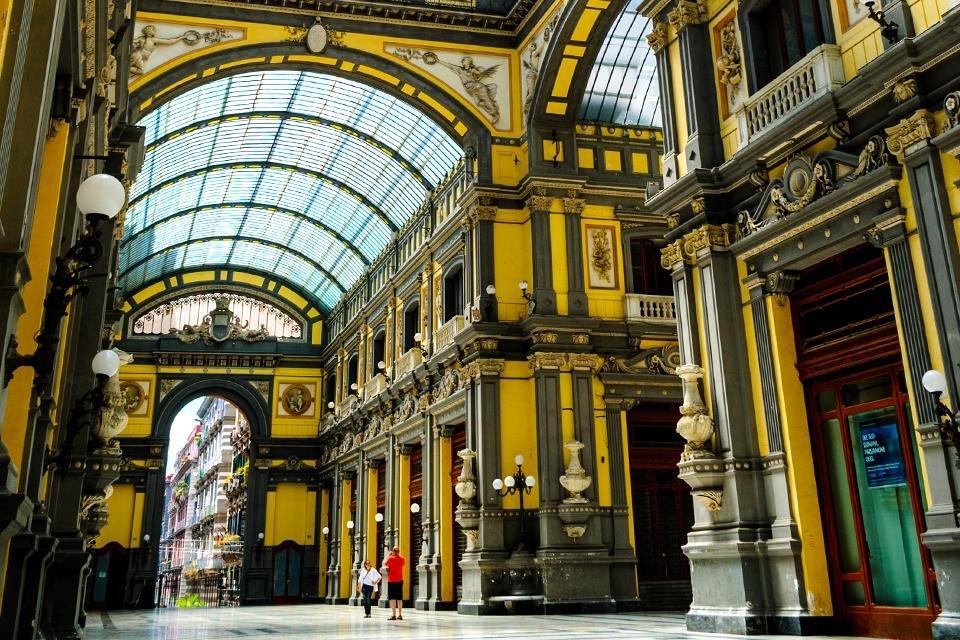 Galleria Principe di Napoli, Napels, Italië