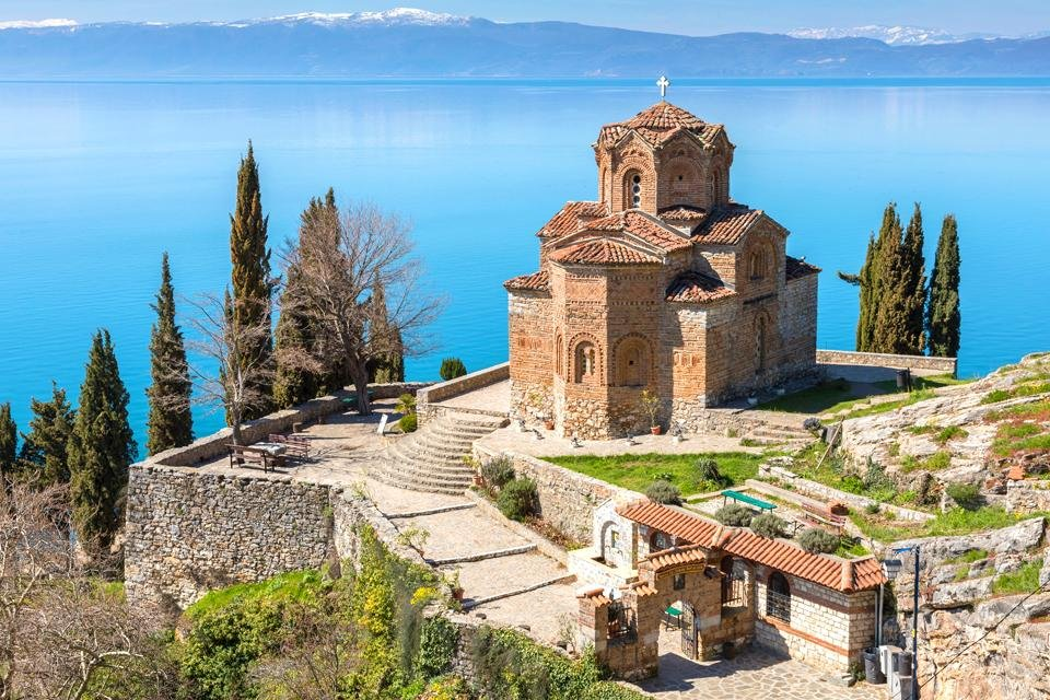 Ohrid in Macedonië