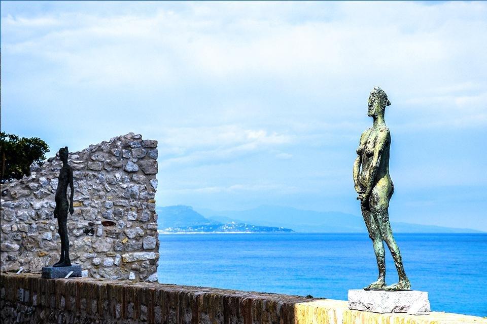 Museum Picasso in Antibes, Frankrijk