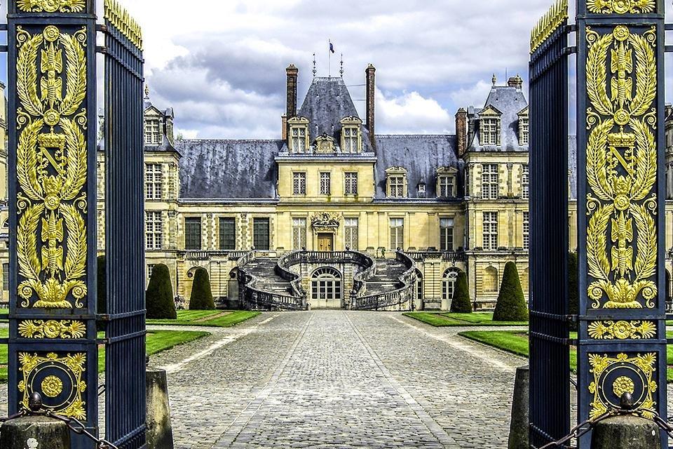 Château de Fontainebleau in Frankrijk