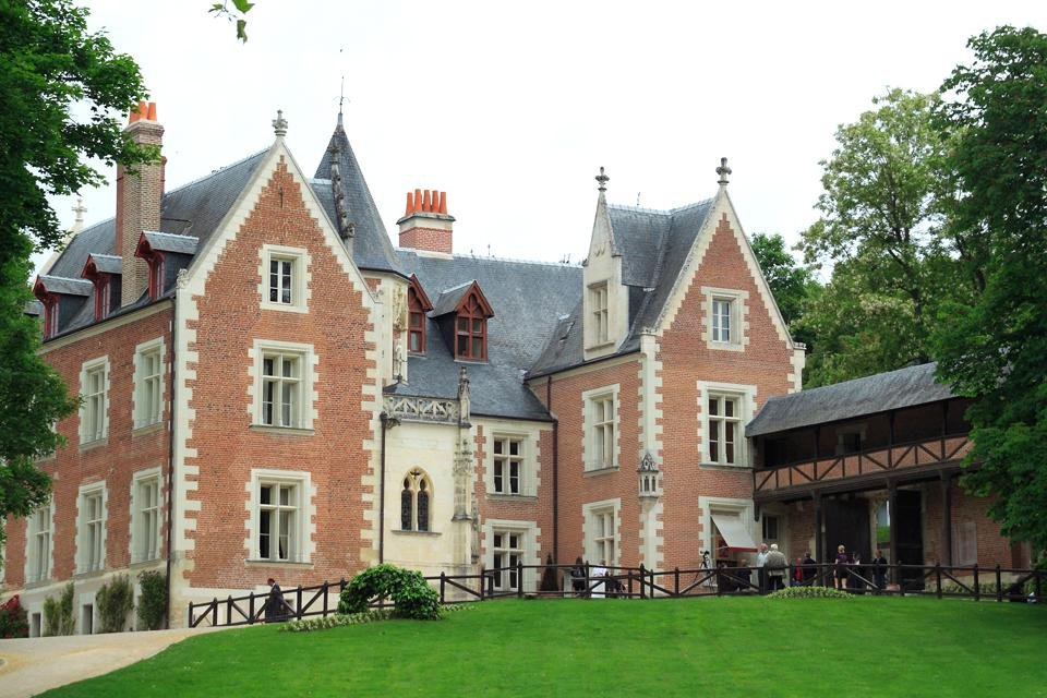 Da Vinci's Maison Clos-Lucé in Frankrijk