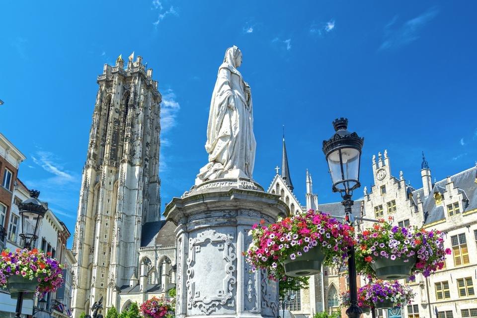 Margaretha van Oostenrijk in Mechelen, België