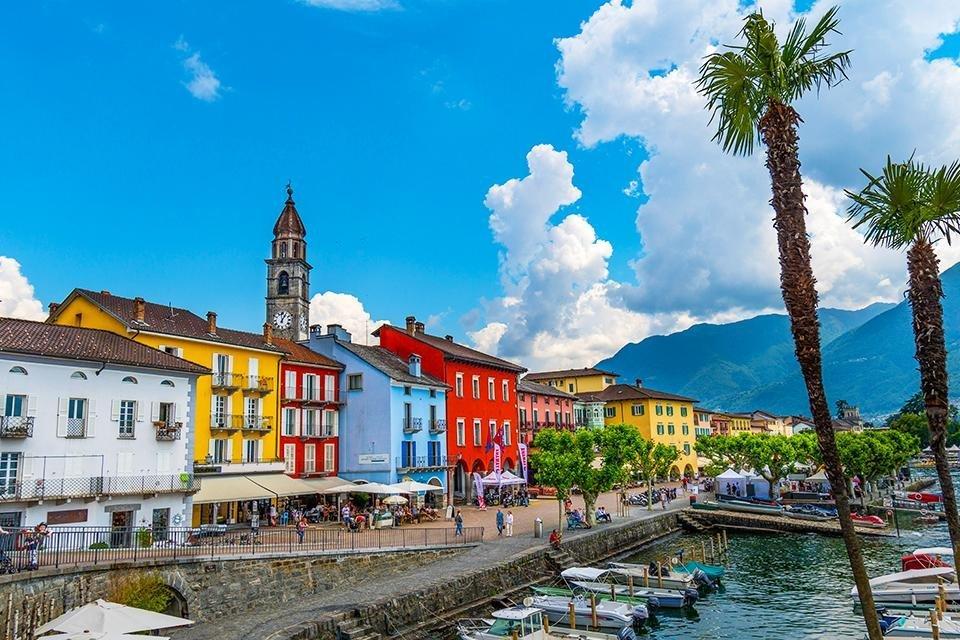 Ascona aan het Lago Maggiore, Zwitserland