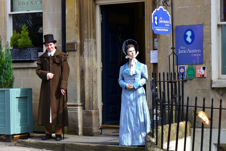Jane Austen Centre in Bath, Engeland