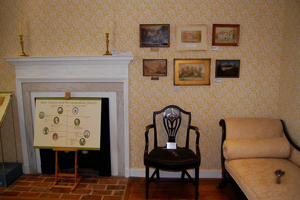 Jane Austen House Museum in Chawton, Engeland