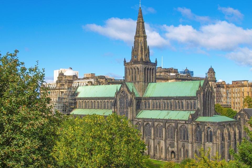 High Kirk, Glasgow, Schotland, Groot-Brittannië