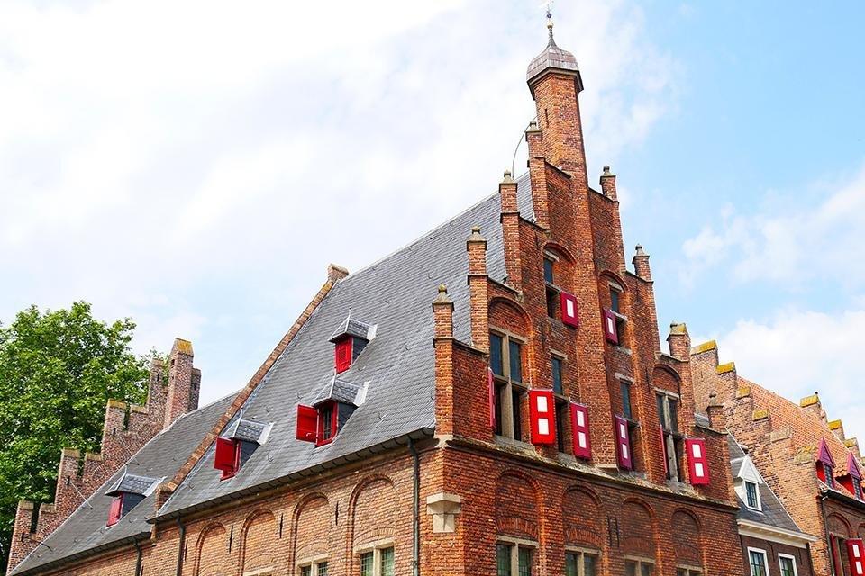 Stadhuis in Doesburg, Nederland