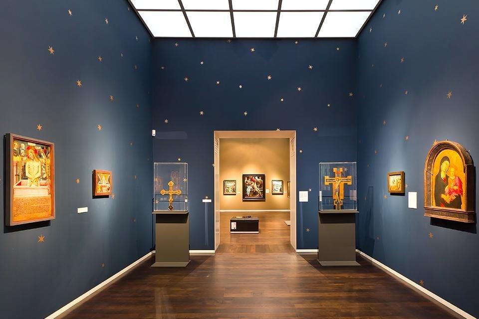 Wallraf-Richartz Museum in Keulen, Duitsland