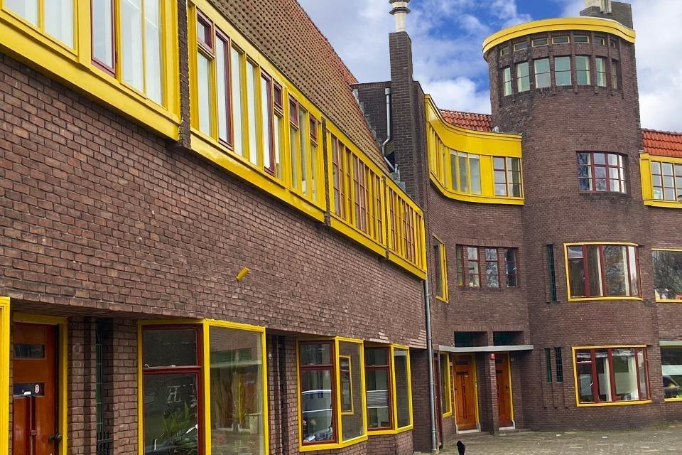 De Oosterparkwijk Groningen Nederland