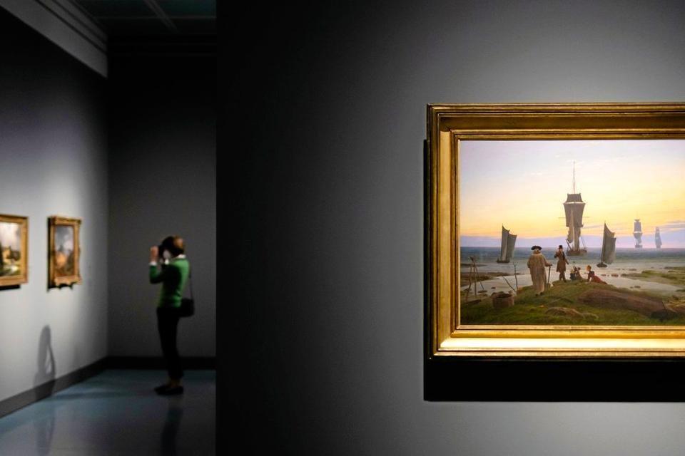 Expositie 'Caspar David Friedrich en de Düsseldorfer Romantici' in het Leipziger Museum der Bildenden Künste
