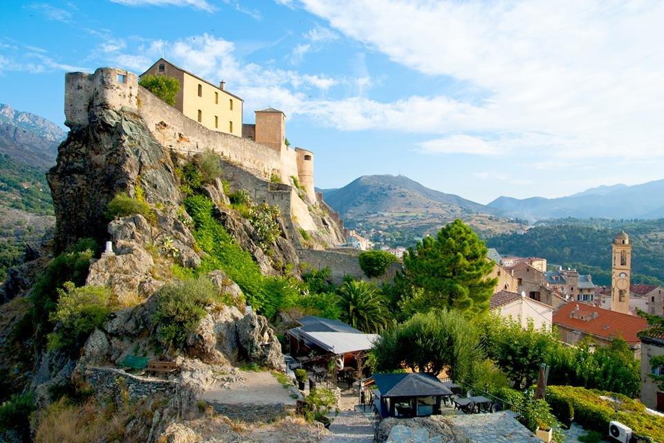 Corte op Corsica, Frankrijk
