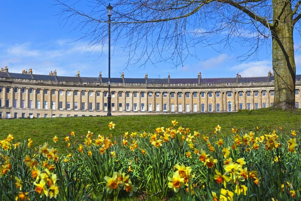 Royal Crescent in Bath, Groot-Brittannië